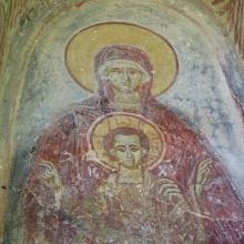 Υπερθυρη αγιογραφία πέρα Παναγίας