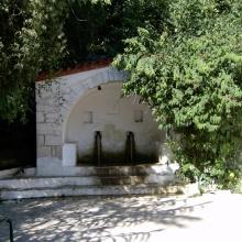 Κεντρική βρύση του χωριού.